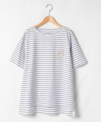 【プラス企画】半袖ボーダーTシャツ
