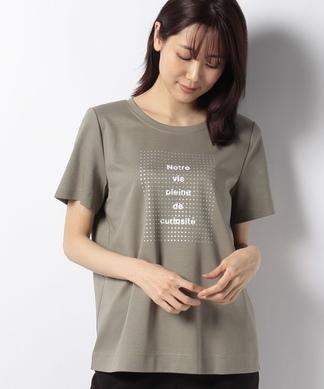 ロゴドット半袖Tシャツ