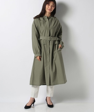 【my perfect wardrobe】ベルト付シャツコート