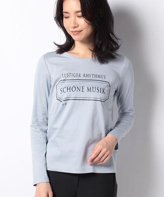 【Leilian WHITE LABEL】ロゴTシャツ