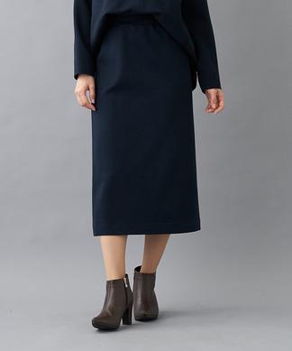 【セットアップ対応商品】【プラス企画】ダンボールニットリラックスタイトスカート