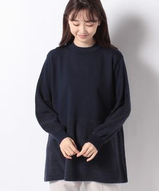 【FASHION SUITE】フレアシルエットニットプルオーバー