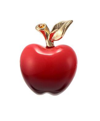 赤りんご ブローチ