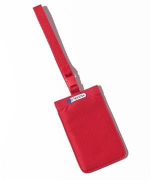 CLASSIC LUGGAGE TAG ヘリテージスカーレット