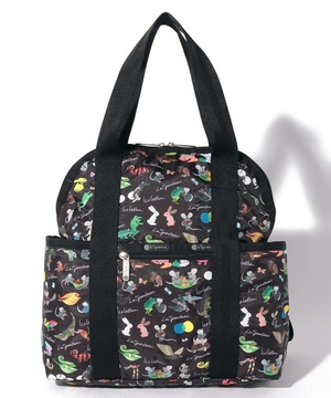 DOUBLE TROUBLE BACKPACK レオ・レオニ ブラック