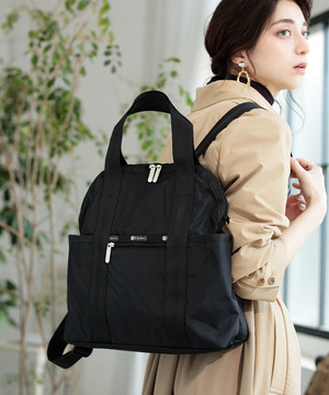 DOUBLE TROUBLE BACKPACK オニキス