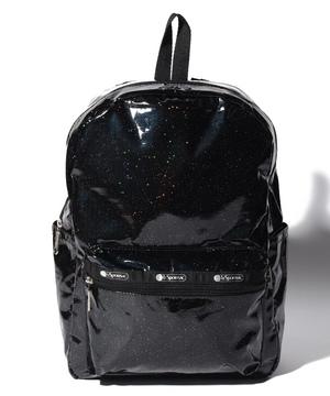 MEDIUM CARSON BACKPACK ブラックグリッター