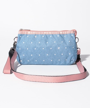 MEDIUM KOKO CROSSBODY デニムドット