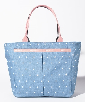 SMALL EVERYGIRL TOTE デニムドット