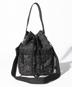 HANDLE DRAWSTRING BAG バーレノワール