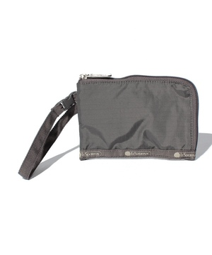 CURVED COIN POUCH チャコールシークレット