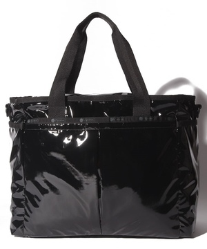 RYAN TRAVEL TOTE ブラックパテント HT