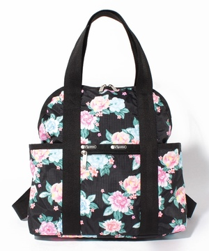 DOUBLE TROUBLE BACKPACK フローラルウィム