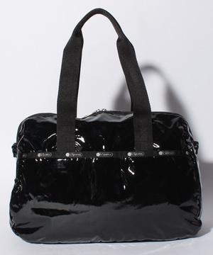 HARPER BAG ブラックパテントシル