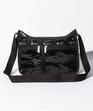 DELUXE EVERYDAY BAG ブラックパテントシル