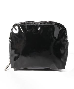 SQUARE COSMETIC ブラックパテントシル
