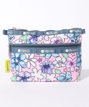 COSMETIC CLUTCH ガーデンカラーリング