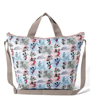 DELUXE EASY CARRY TOTE ミッキー パッチワーク