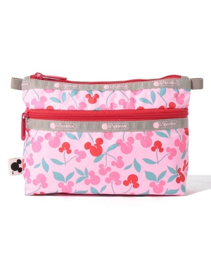 COSMETIC CLUTCH ミッキー チェリー