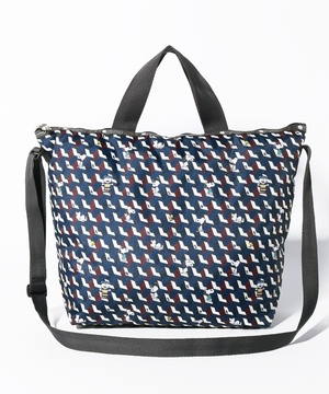 DELUXE EASY CARRY TOTEピーナッツジオメトリック