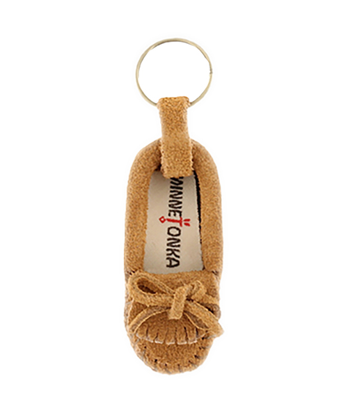 MINIATURE SUEDE MOC KEY RINGS Taupe 【35700662】