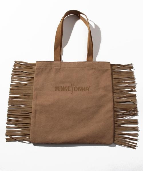 MT Fringe Tote Bag Beige【35701422】