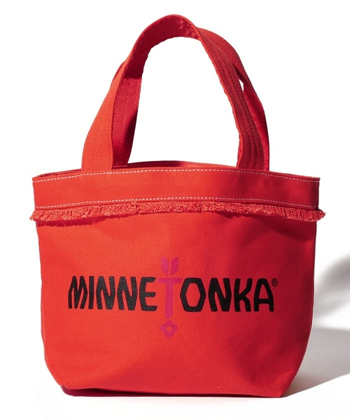 MT Fringe Wide Tote Bag Orange【35701441】