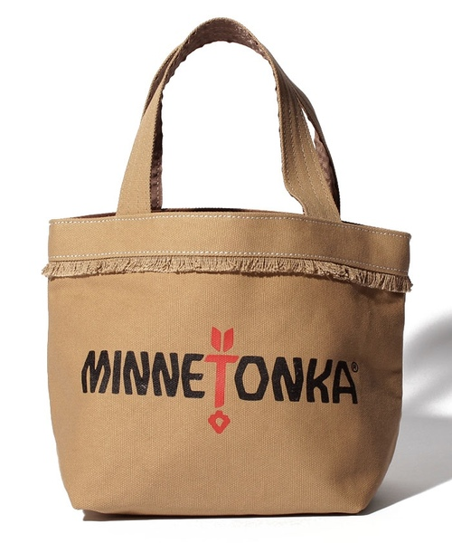 MT Fringe Wide Tote Bag Beige【35701442】