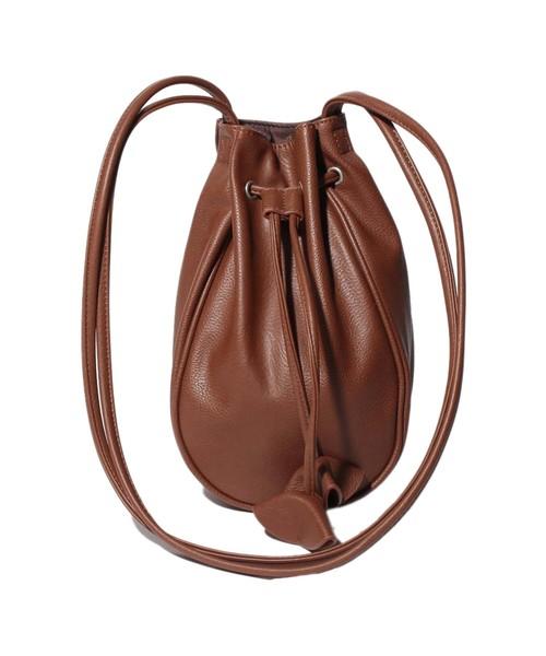 MT Drawstring BAG Brown【35701471】