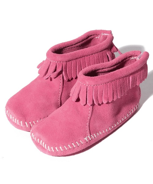 BACK FLAP BOOTIE Pink【35700640】
