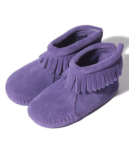 BACK FLAP BOOTIE Purple【35700642】
