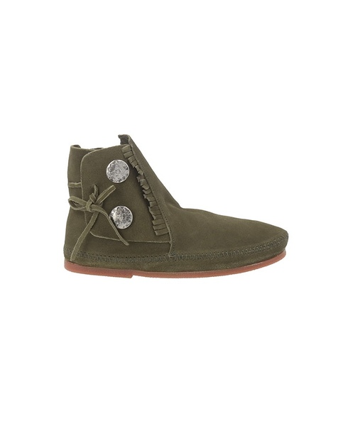 75TH TWO BUTTON BOOTS Olive 【35702450】