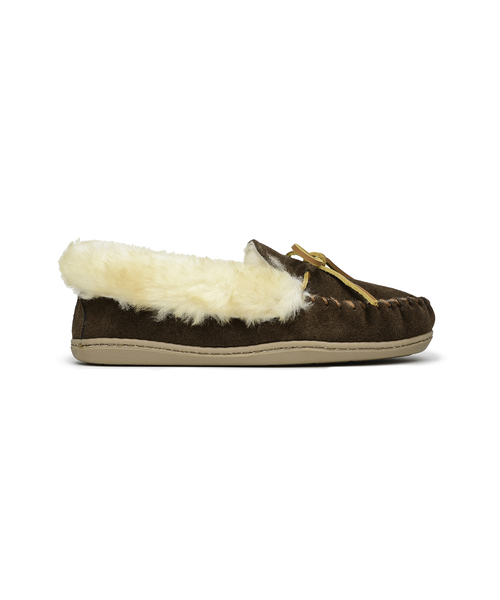 ALPINE SHEEPSKIN MOC Chocolate【37112027】
