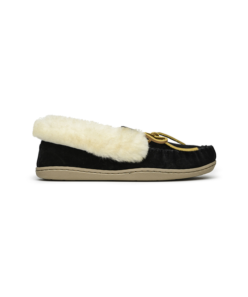 ALPINE SHEEPSKIN MOC Black【37112024】