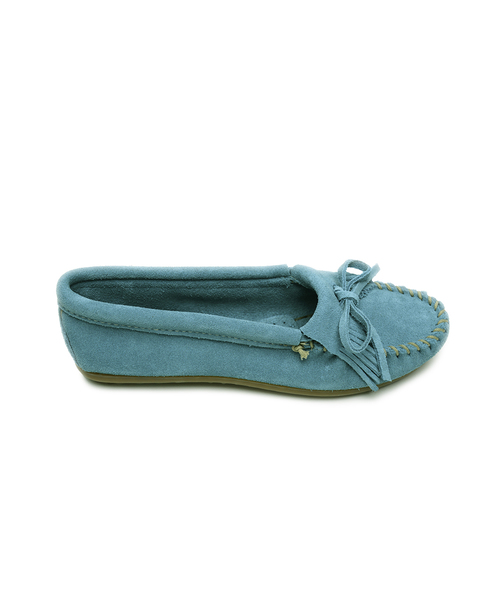 KILTY SUEDE MOC Turquoise【37110023】
