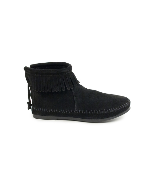 BACK ZIP BOOT Black【37111003】