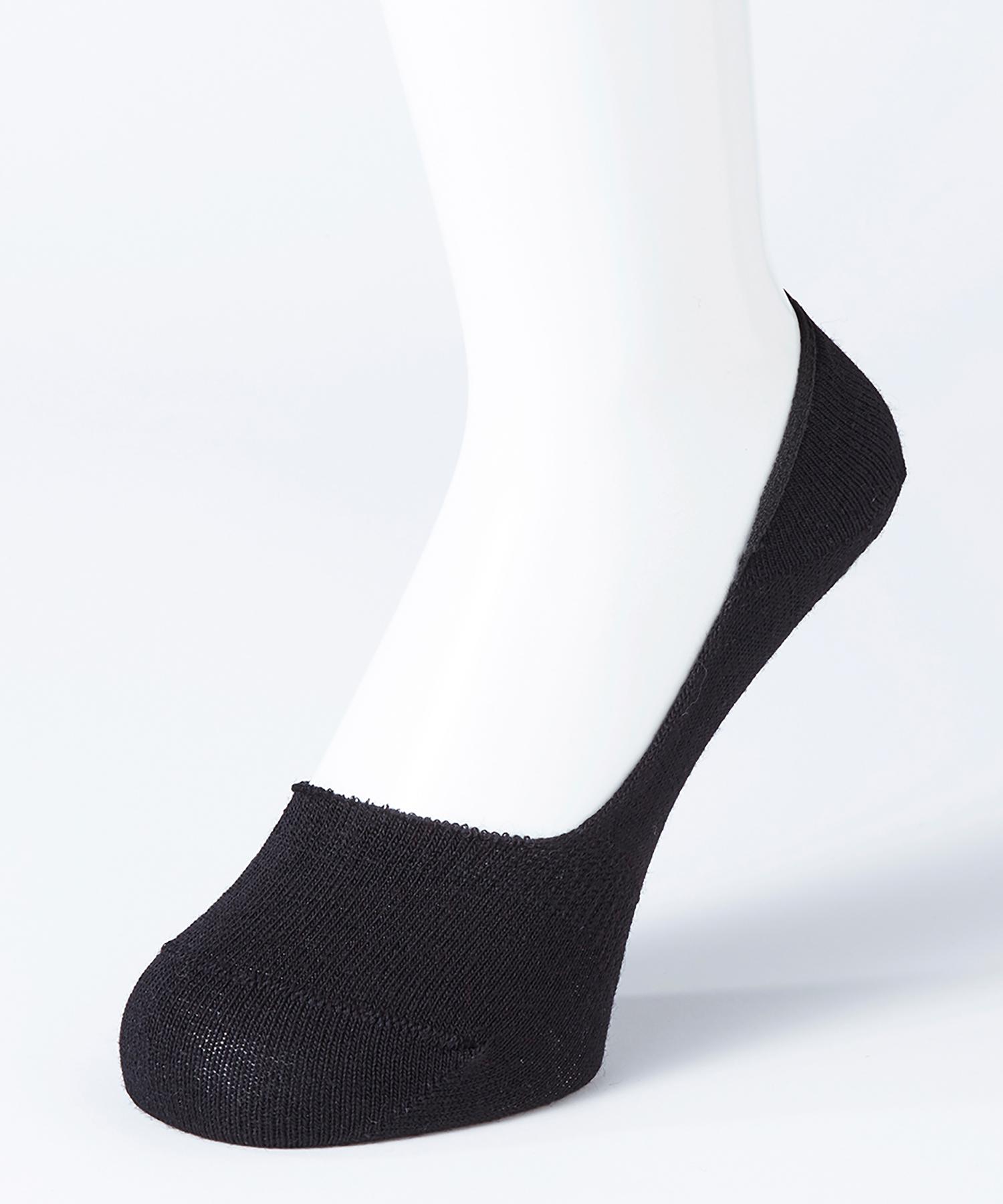 メンズ フットカバー 浅履き(つま先かかと補強)