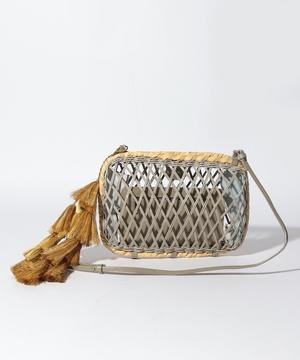 【LE VERNIS】Mesh Clutch Bag