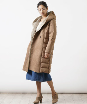 【粧う/YOSOOU/ヨソオウ】Fake Mouton Long Coat