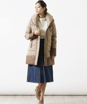 【粧う/YOSOOU/ヨソオウ】Two Piece Collar Coat