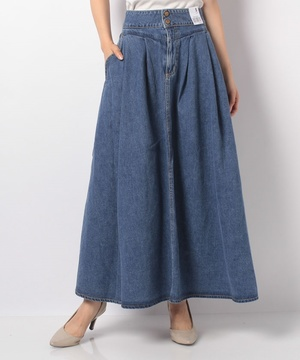 【SOMETHING】MAXI FLARE SKIRT