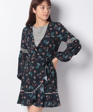 【THE FIFTH】SKYWARD WRAP DRESS