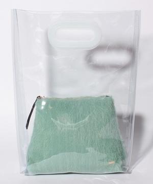 【casselini】クリアバッグ&ポーチセット