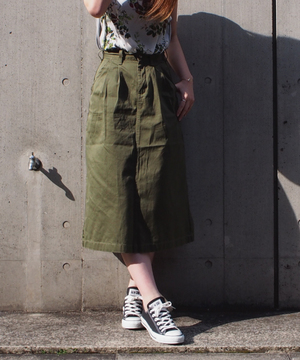 【Lee】TUCK SKIRT