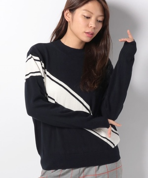【the fifth】TRANSVERSE KNIT
