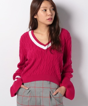 【THE FIFTH】GRADUATE KNIT
