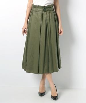 【basque】レーヨンチノロングスカート