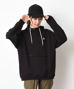 【Lee】LOOSE BUTTON-UP HOODIE