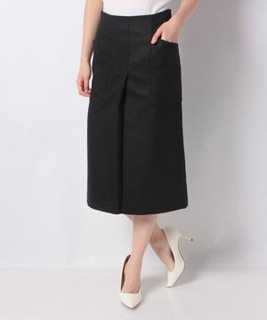 【revionnet】前タックタイトスカート