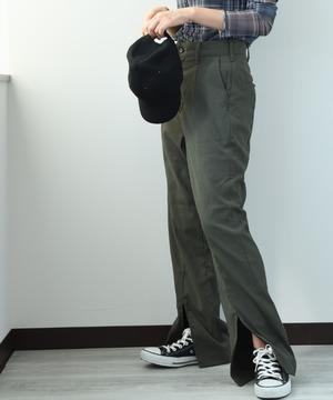 【セットアップ対応商品】【Lee】BODY SHELL DRY FRONT SLIT パンツ